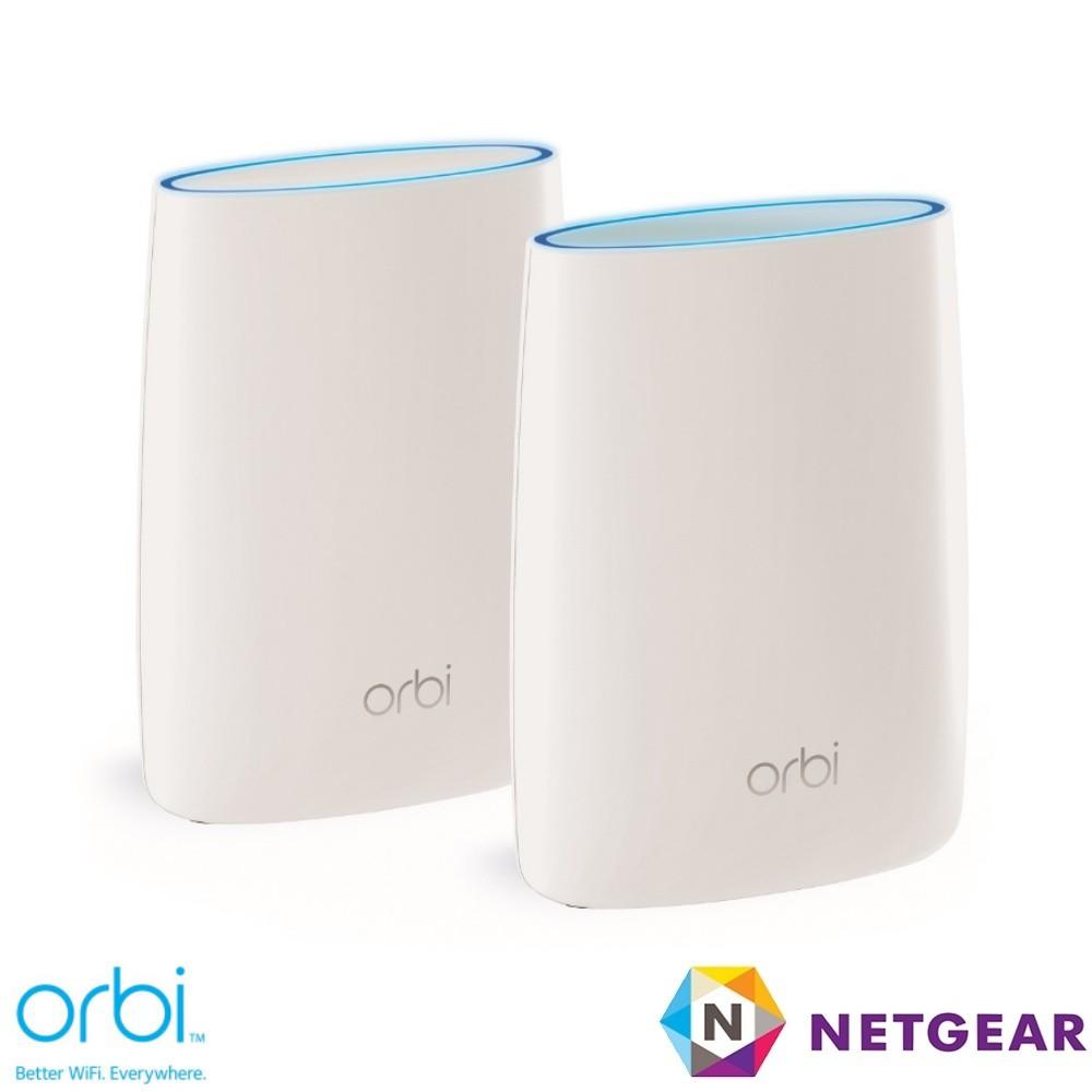 NETGEAR Orbi 高效能 AC3000 三頻 WiFi延伸系統組合 (RBK50) MESH【MOD無線延伸】
