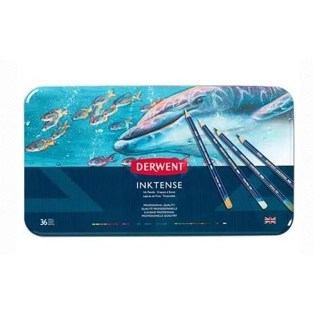 英國達爾文 DERWENT DW2301842 INKTENSE 水墨色鉛筆 36色