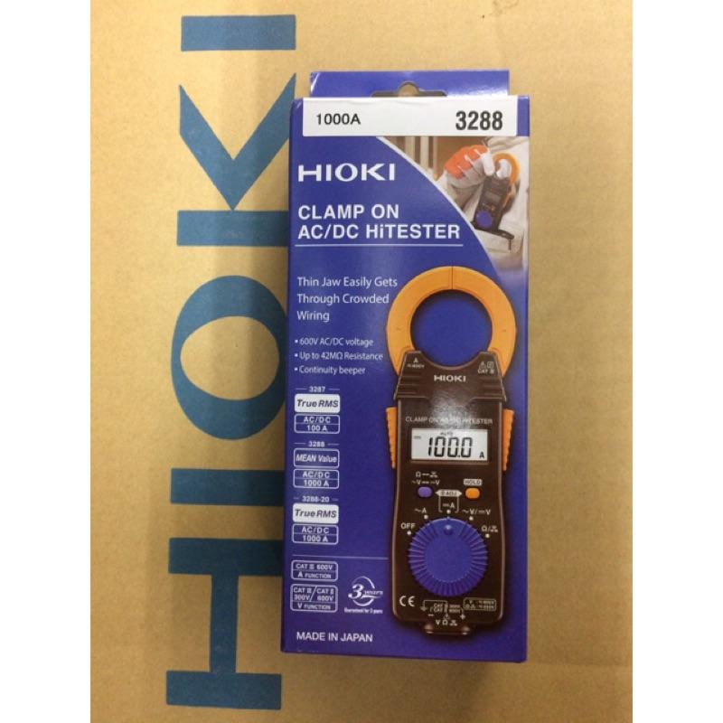 日本HIOKI 3288 交直流鉤錶 ACA DCA 1000A 非3288-20 3280-10