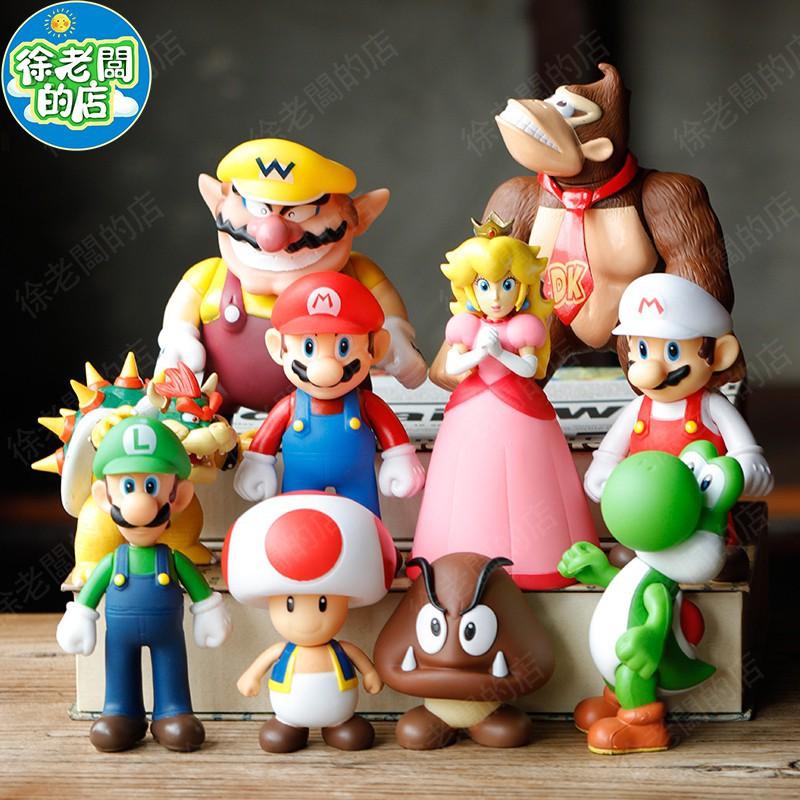 ❤快速出貨❤Switch瑪利歐公仔 Super Mario超級瑪莉歐 馬里奧 馬力歐兄弟玩具瑪麗歐交換聖誕節生日禮物