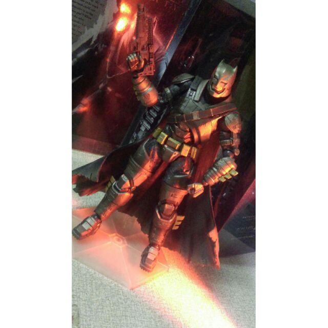 Play Arts改 BVS Batman 蝙蝠俠對超人 蝙蝠俠 公仔(二手)