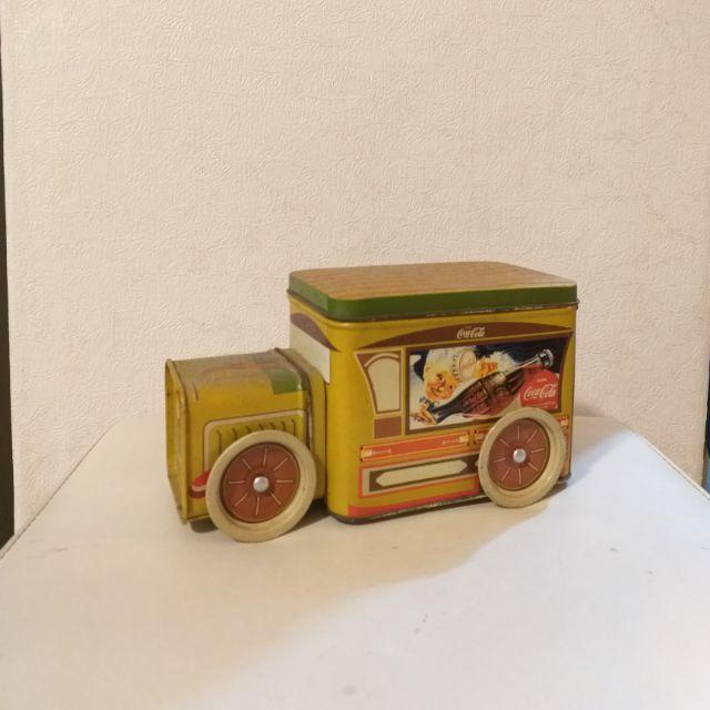 絕版可口可樂鐵皮玩具車