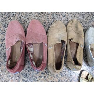 【二手TOMS】 男鞋 女鞋 ZARA JIMIS 懶人鞋 便宜出售 爛鞋 破鞋
