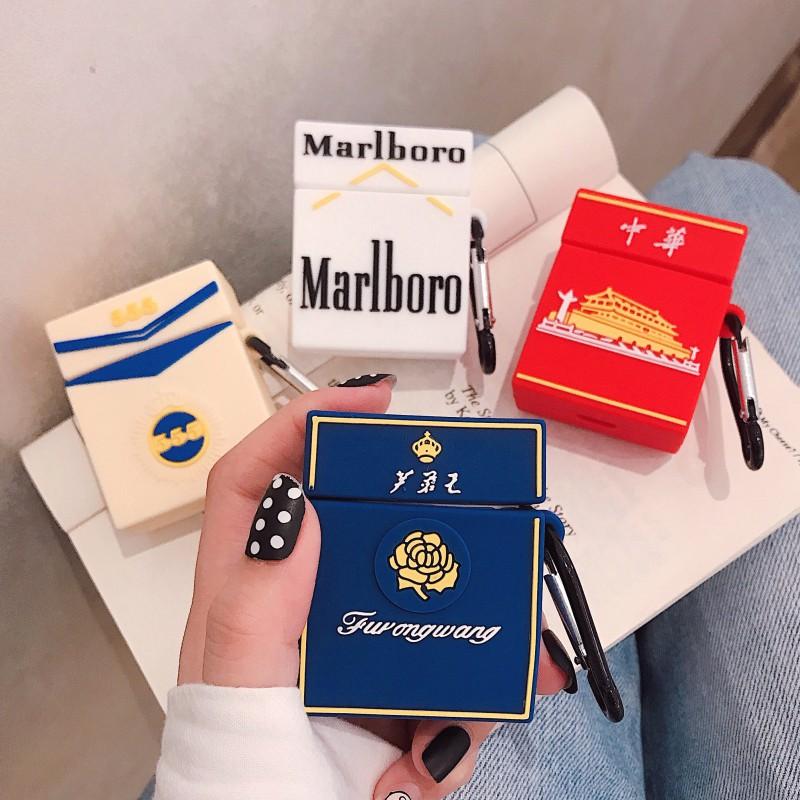 創意個性煙盒airpods保護套蘋果airpods1代2代無線藍牙潮男款3pro