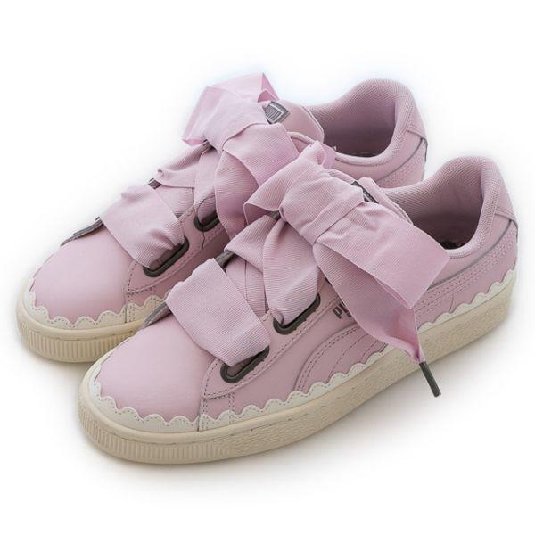 PUMA 女 BASKET HEART SCALLOP WNS 經典復古鞋 36697902
