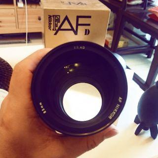 Nikon 85mm f1.4d.   一手鏡 近全新