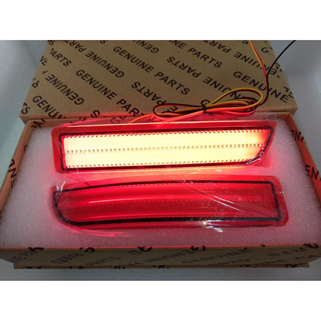 TOYOTA 豐田 歐風款 RAV4 PREVIA 雙功能 LED後保桿燈 2004~ 2009車款 尾燈 後燈 煞車燈