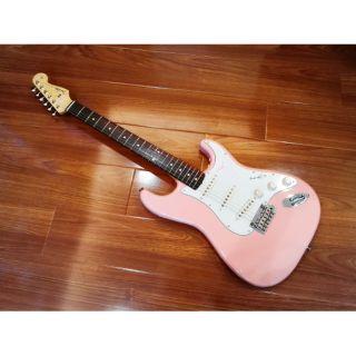 已售出CP值爆表 Fender Japan Hybrid 60s Stratocaster Flamingo Pink
