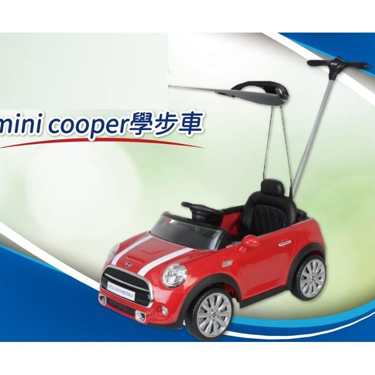(當日寄)BMW原廠授權mini cooper 學步車 後控四輪助步車 滑步車 推行車 附遮陽板