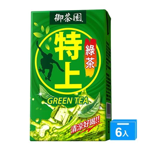 御茶園特上綠茶250mlx6【愛買】