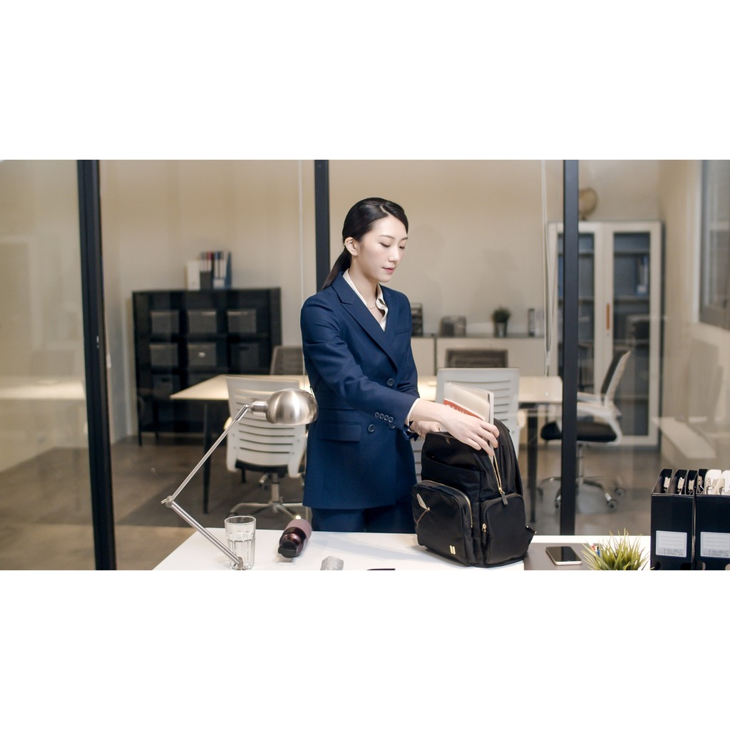 ☆SUMDEX☆人體工學設計 高級後背包 網路最低價 經典 商務 後背包 都會 筆電包 蜻蜓 776BK-DT 黑色