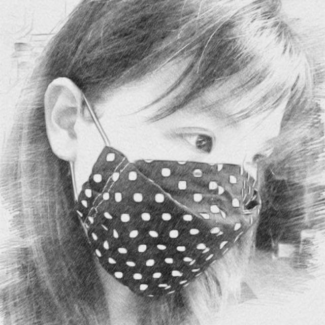 【玹媽手作】現貨-似KF94款立體薄棉口罩套-透氣(內可放濾材)