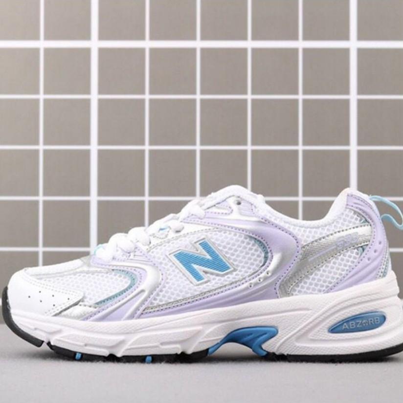 【環球代購】新款 New Balance NB MR530CG1 白紫色 復古運動鞋 老爹鞋 女款 休閒運動鞋