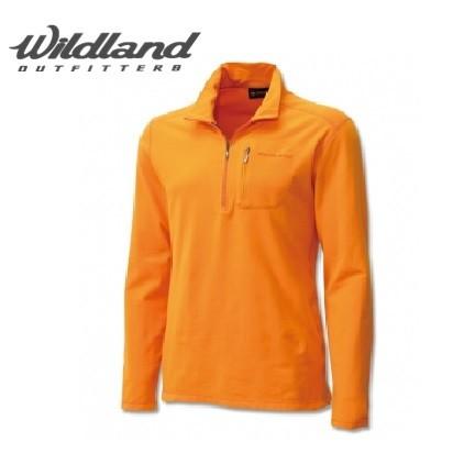 荒野 Wildland 0A12602 男 彈性銀離子保暖上衣--好康特賣 【登山屋】