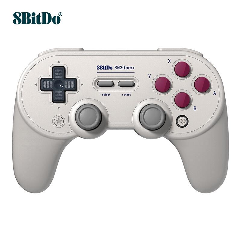 【貓貓】 八位堂 8BitDo SN30 Pro+ 遊戲手柄無線手機PC電腦任天堂NS Switch/Lite遊戲機st