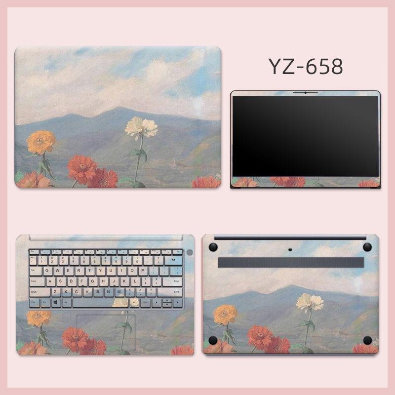 台湾首發 震撼价適用華碩vivobook電腦貼紙14寸V4000/V5000筆記本貼膜全套15.6寸
