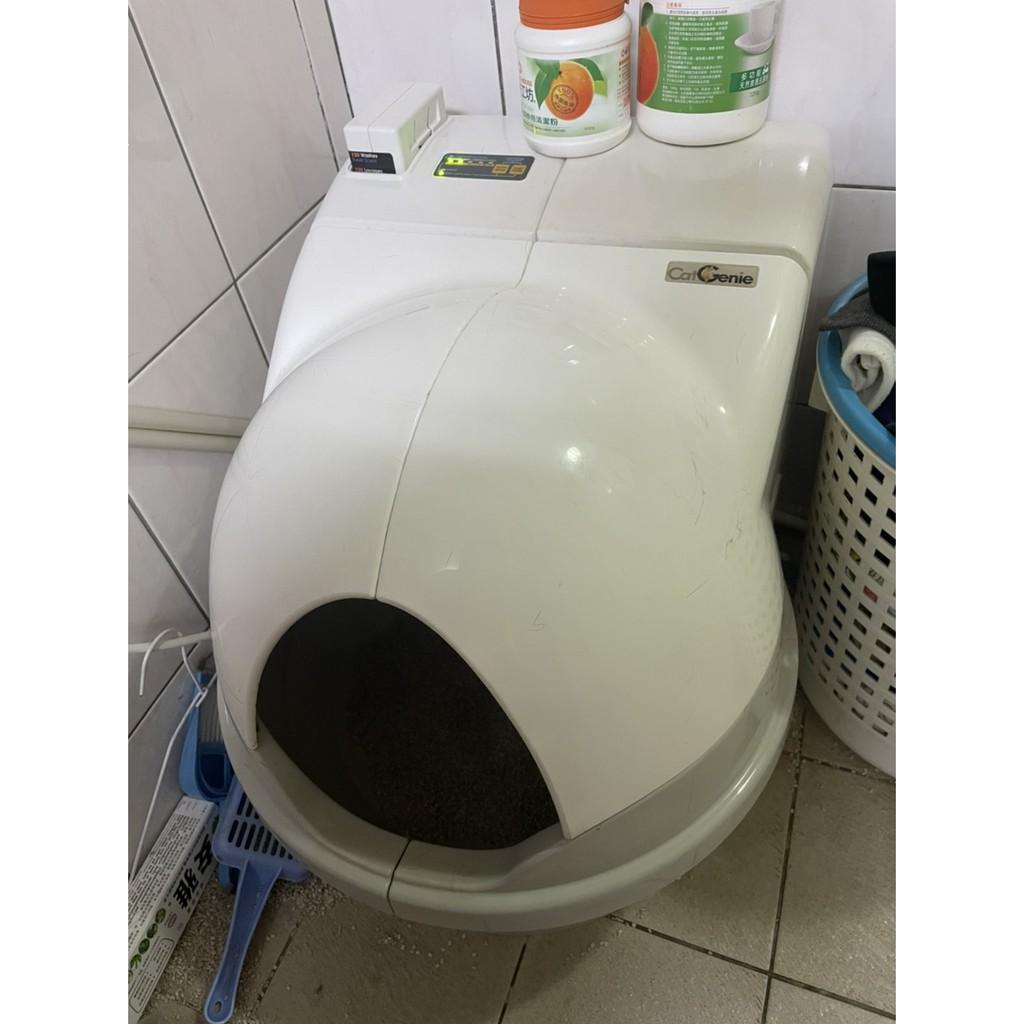 二手-貓潔易CatGenie全自動沖洗貓廁所(旗艦款)