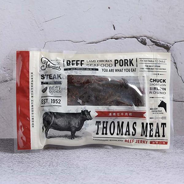 湯瑪仕肉舖 狠辣牛肉乾 120g±4.5%