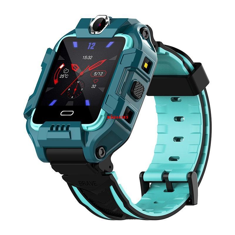 小天才黑貓4G全網通兒童電話手表智能最新版學生防水z6男孩女孩z5