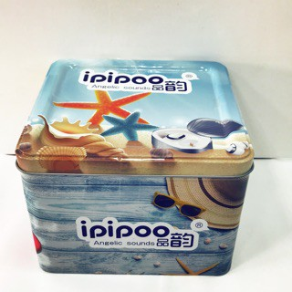ipipoo 品韵 X800 白色 IP64級 防水 真無線藍芽耳機 帶充電艙