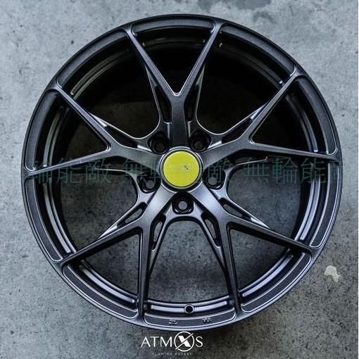 全新鋁圈 Atmos X Wheels X14 19吋 旋壓鋁圈 5孔108 5孔112 5孔114.3 槍灰