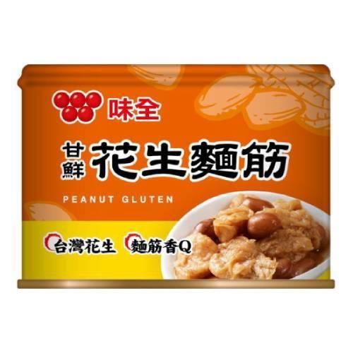味全 甘鮮花生麵筋(170gX3入/組)[大買家]