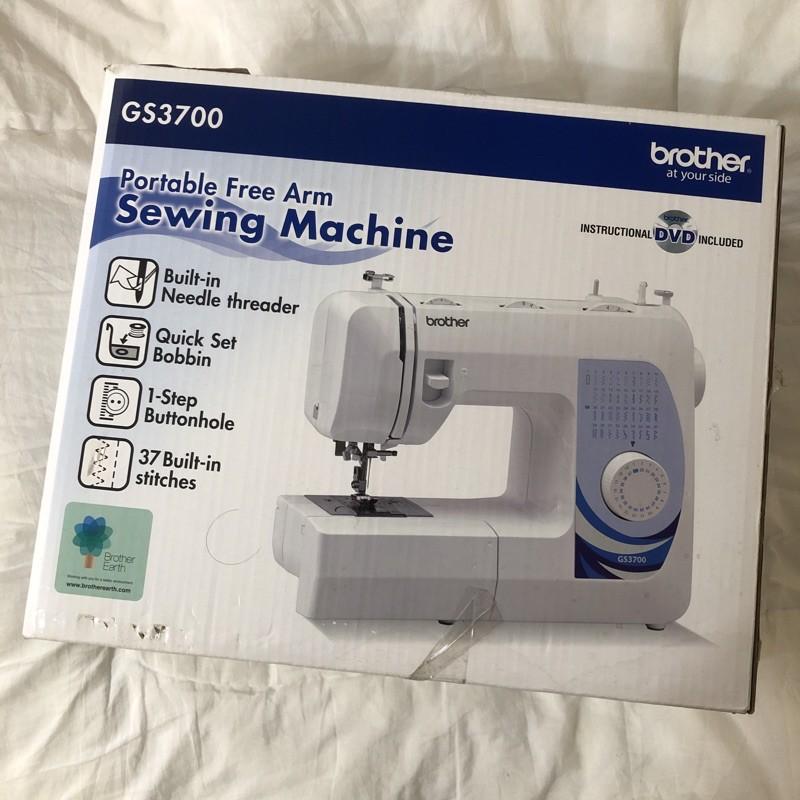 【二手良品】brother GS3700 兄弟牌 家庭用 縫紉機