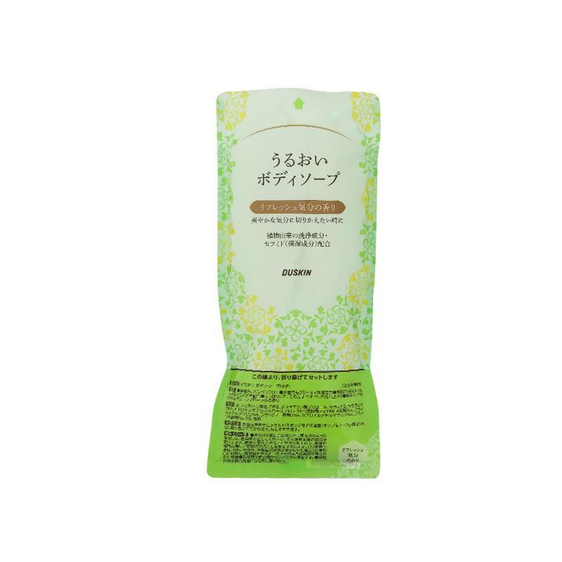 【DUSKIN樂清】日本保濕沐浴乳補充包(清爽)450ml