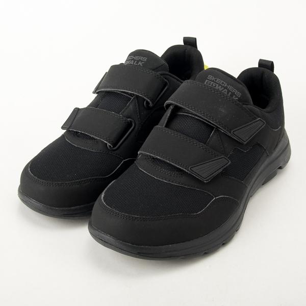 Skechers 男  GOWALK 5 黏扣 健走鞋 全黑 警察勤務鞋 工作鞋 大尺碼 55515BBK  現貨
