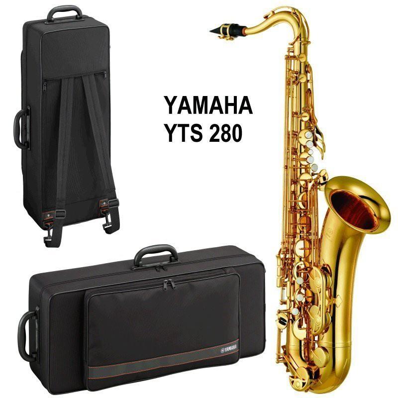 YAMAHA YTS-280 280 次中音薩克斯風Tenor Saxophone 附箱盒,贈小譜架