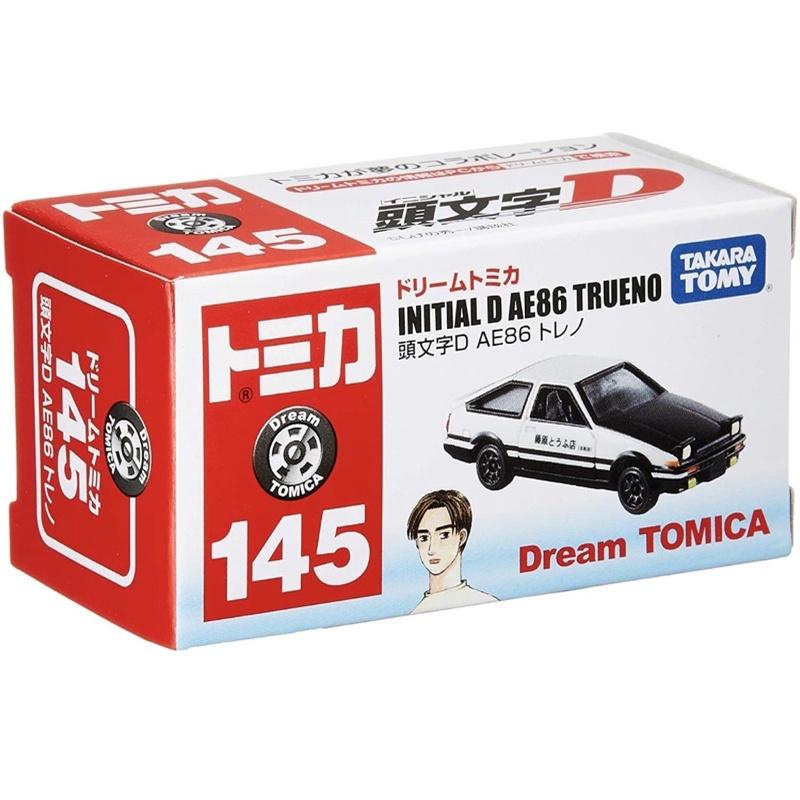 Tomica 多美小汽車 Dream No.145 AE86 頭文字D 藤原拓海 豆腐店