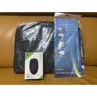 acer筆電包 附斜背帶 贈送無線滑鼠+防水透明鍵盤膜 臺北市