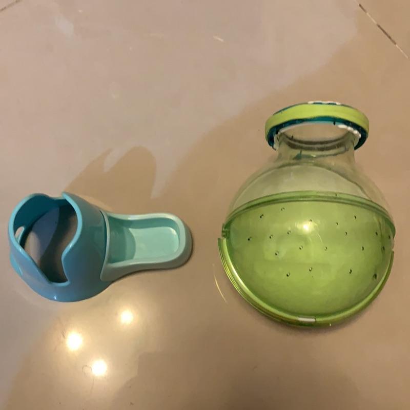 倉鼠  藍色喝水飼料架