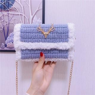 現貨 ✺♦℡手工編織包包diy冰條網格包毛線材料包自制織包包送女友閨蜜禮物