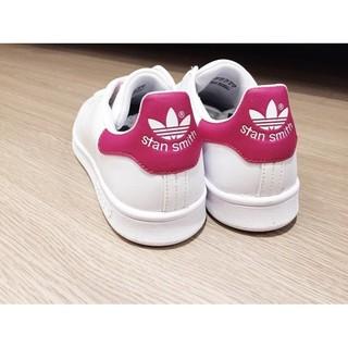 Adidas Originals Stan Smith 史密斯 Adidas鞋 粉紅 桃紅 低筒  女鞋 B32703