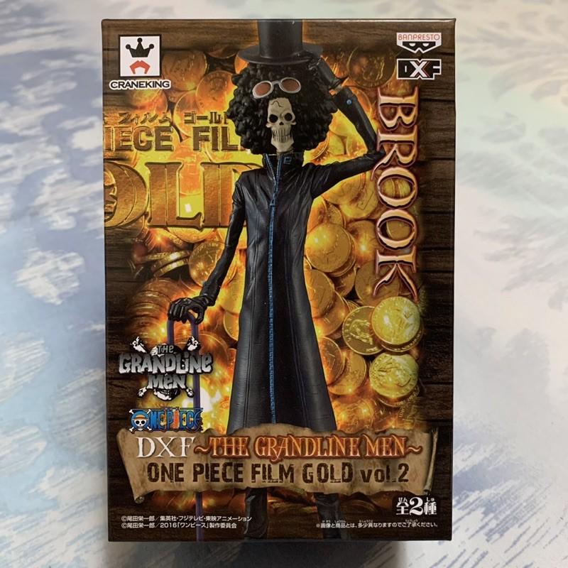 🇯🇵日空版 金證 航海王 海賊王 DXF THE GRANDLINE MEN GOLD vol.2 黃金城 布魯克