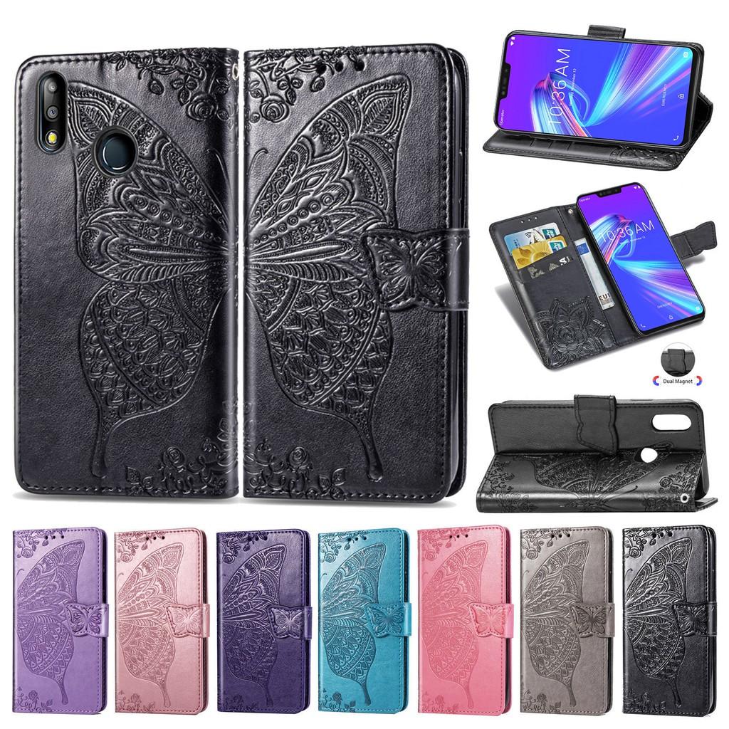 華碩 Zenfone Max M2 手機殼 Pu 皮革錢包手機殼華碩 Zb633Kl Zb 633kl Zb633 Kl