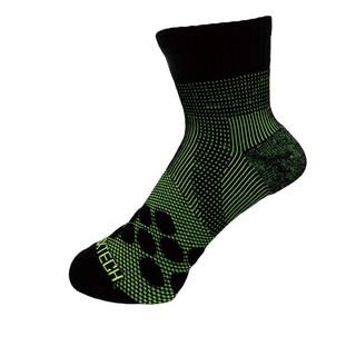 |享趣戶外|《EGXtech》8字繃帶 P83 中統多功8字繃帶運動襪AIR(黑/ 淺綠) 高雄市