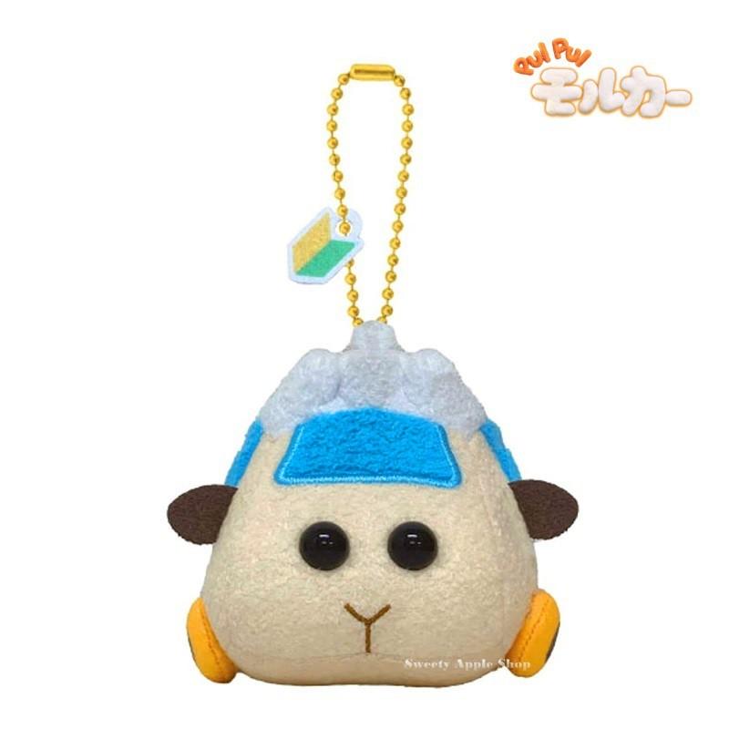 天竺鼠車車【 TW SAS 日本限定 】PUI PUI 天竺鼠車車 Abby 珠鍊吊飾 玩偶娃娃 
