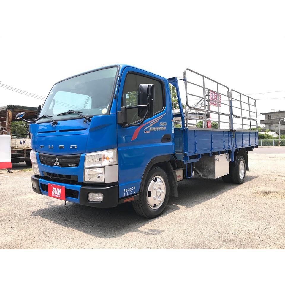 2015 三菱貨車 FUSO 堅達 3.5噸貨車 14.5尺貨車