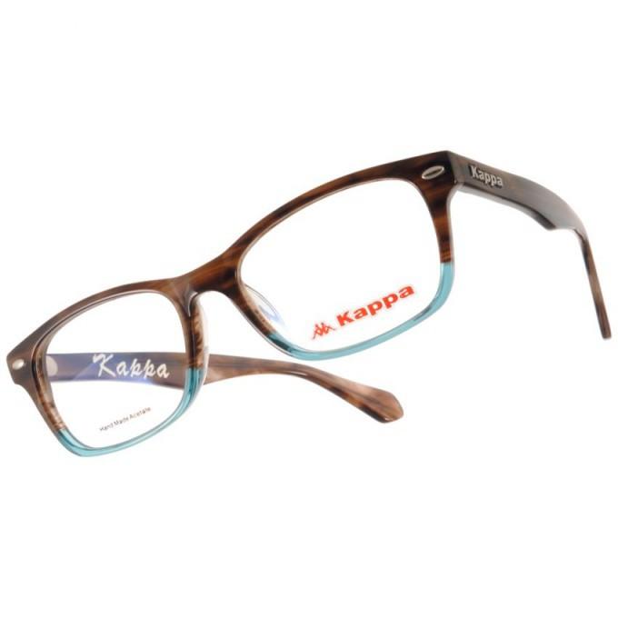 KAPPA 光學眼鏡 KP1036 BWL 時尚風格方框款-金橘眼鏡