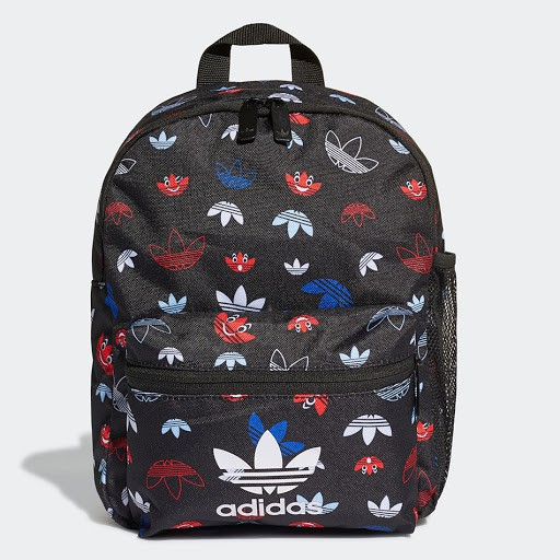 【Dr.Shoes 】GD3137  Adidas Originals Backpack 三葉草 後背包 滿版