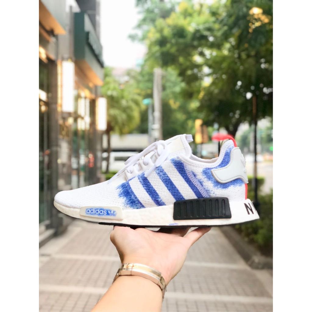 big sale c0d77 dbc89 Adidas Original NMD R1 白藍 渲染 白色 藍白 限量 男鞋 G27916