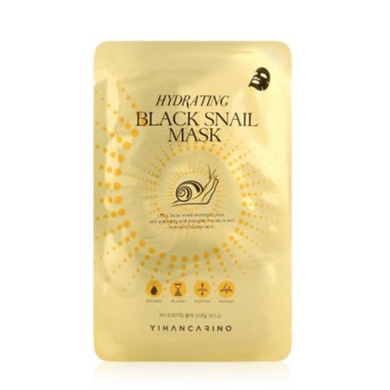 YIHAN CARINO Hydrating Black Snail Mask韓國麗仁堂黑蝸牛水凝修護面膜