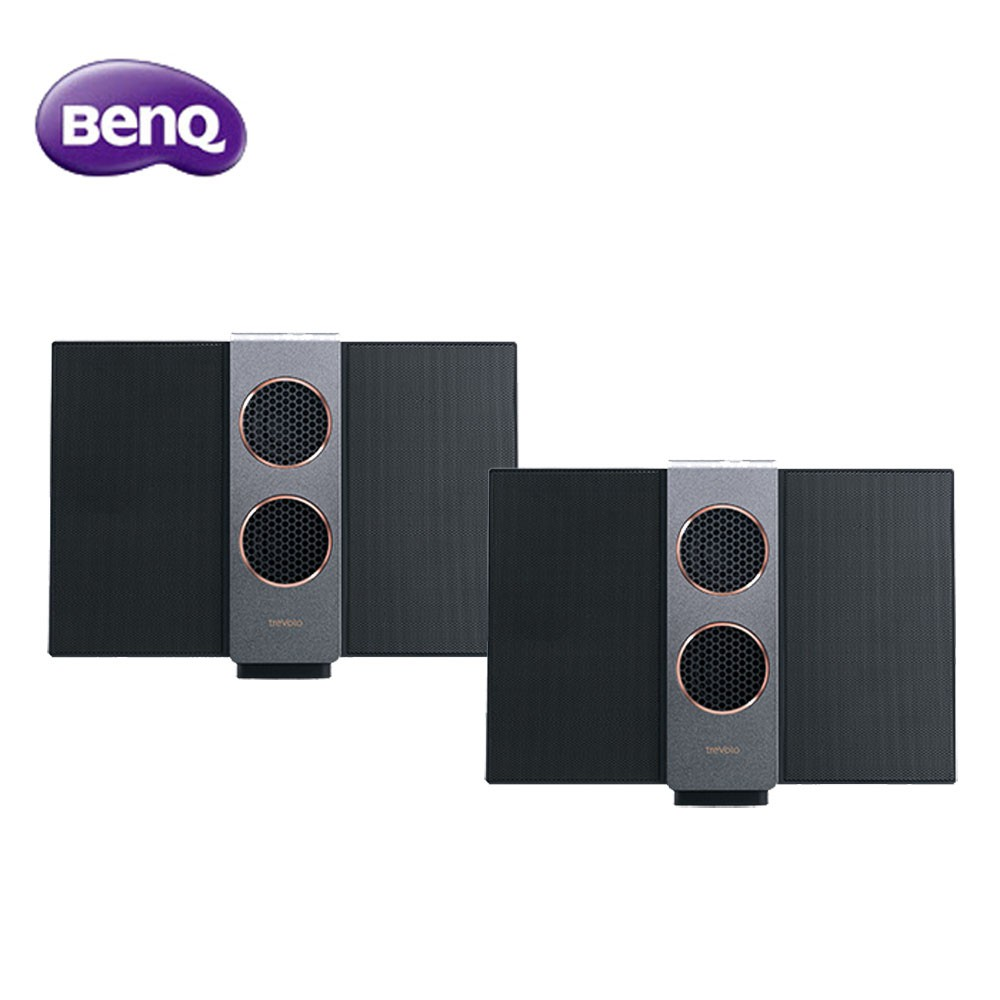 BenQ靜電藍牙揚聲器treVolo(S)超值2入組-送SHE8105耳機雙入不挑色