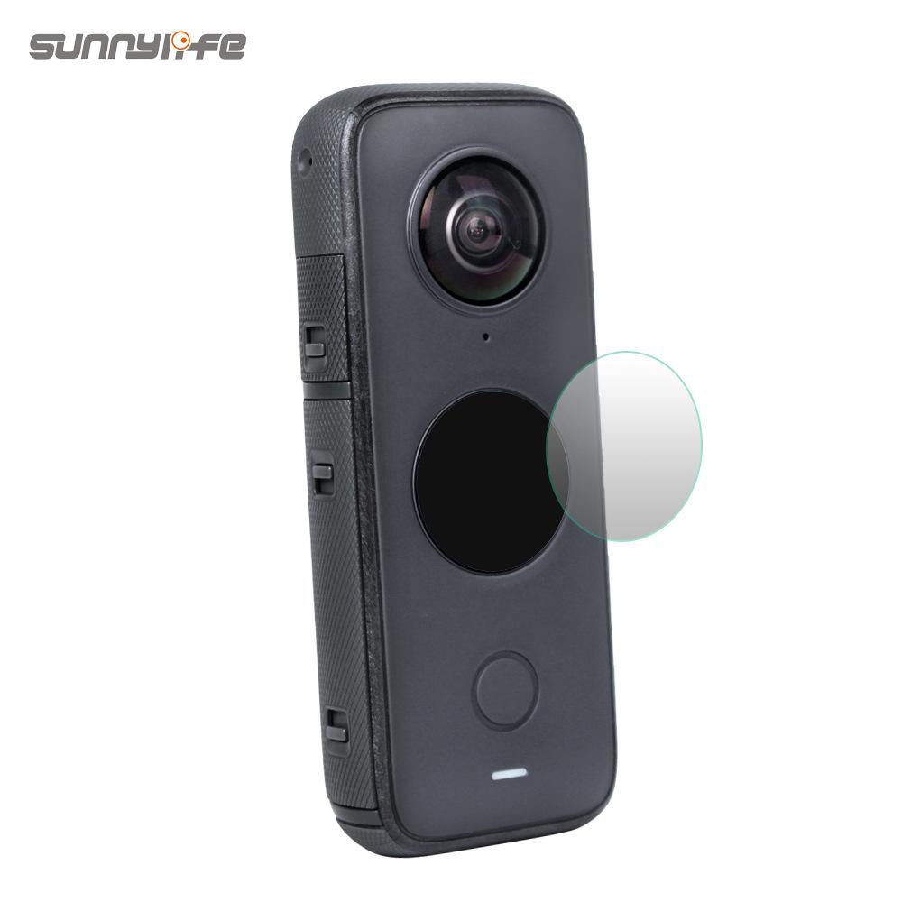 適用Insta360影石ONE X2鋼化膜保護膜高清防爆運動相機貼膜配件
