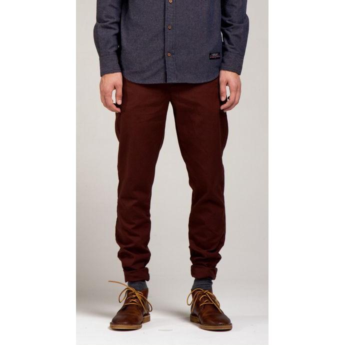 [二手][古著] I Love Ugly 褐紅色 長褲 JONTY PANT TEAL Size: Large