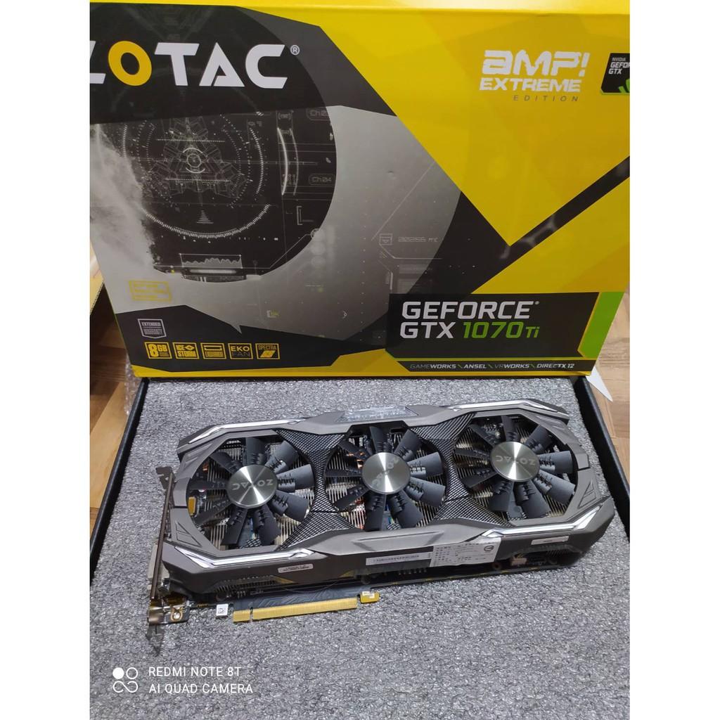 索泰 ZOTAC GEFORCE® GTX1070 TI 8G AMP EXTREME 顯示卡 A1007150
