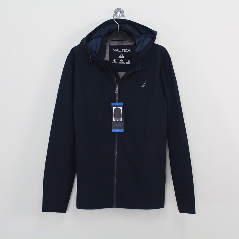 NAUTICA 男生 經典 防風外套(深藍)