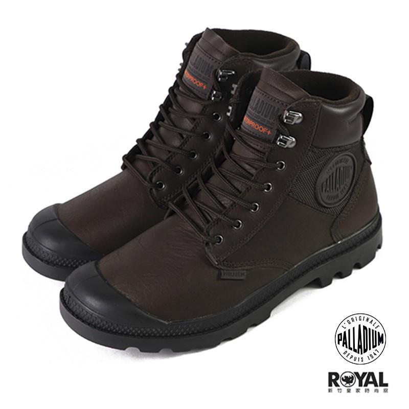 Palladium Pampa Shield 咖啡色防水皮質軍靴 男女款 NO.B1694 廠商直送